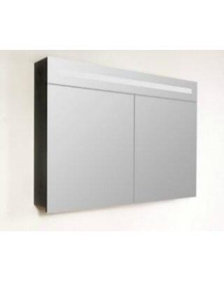 Sanistar spiegelkast 2.0 100cm Black Wood