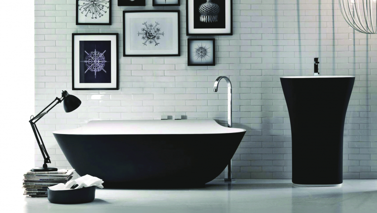 Zwarte kraan in keuken en badkamer trendy