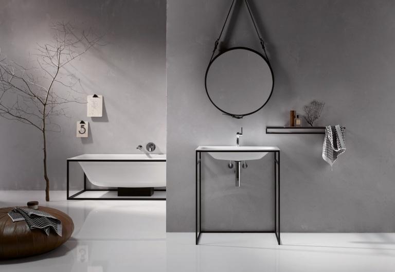 Toilet Accessoires Zwart : Zwarte kraan in keuken en badkamer trendy